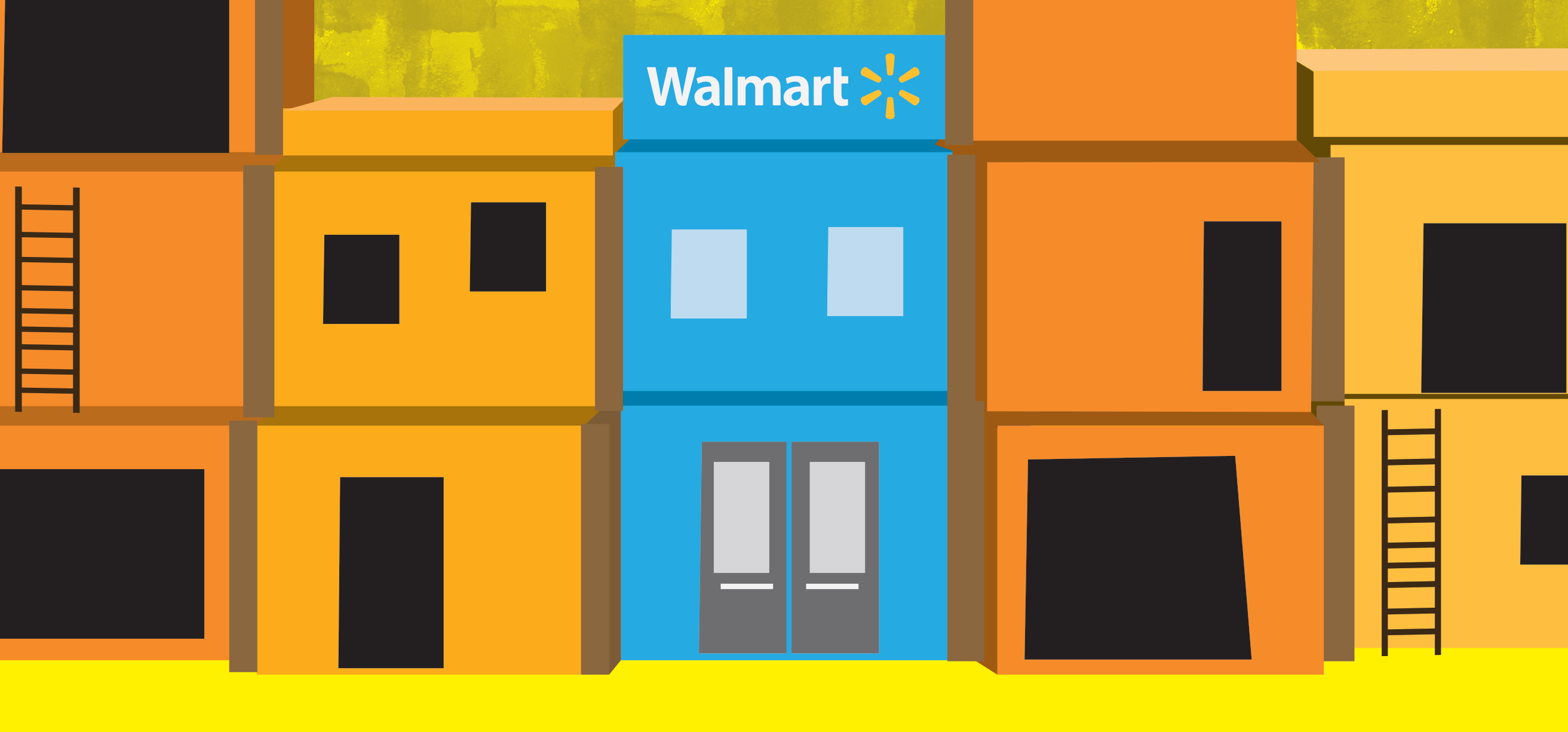 how does walmart create value and sustain competitive advantage